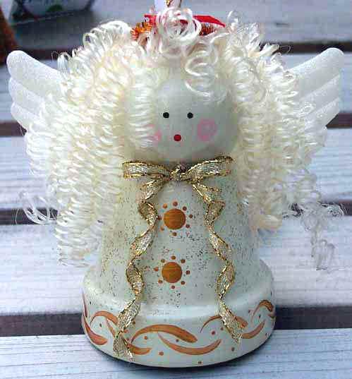 ... - Basic Christmas Craft Ideas Clay Pot Crafts Clay Pot Santa Claus