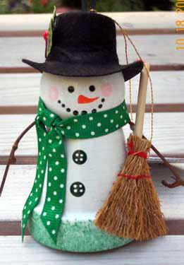 Christmas Ornament Wreath Instructions
